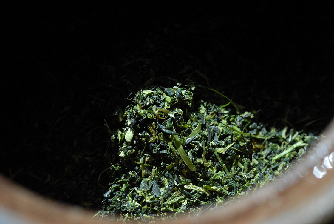Marukyu-Koyamaen Konacha Kyo Kanoko japanese shaded green tea