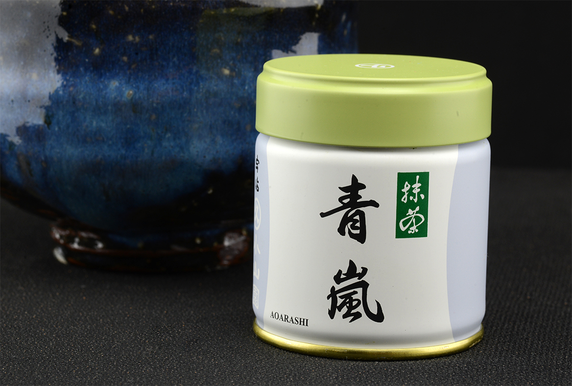 matcha aoarashi powdered green tea Marukyu-Koyamaen
