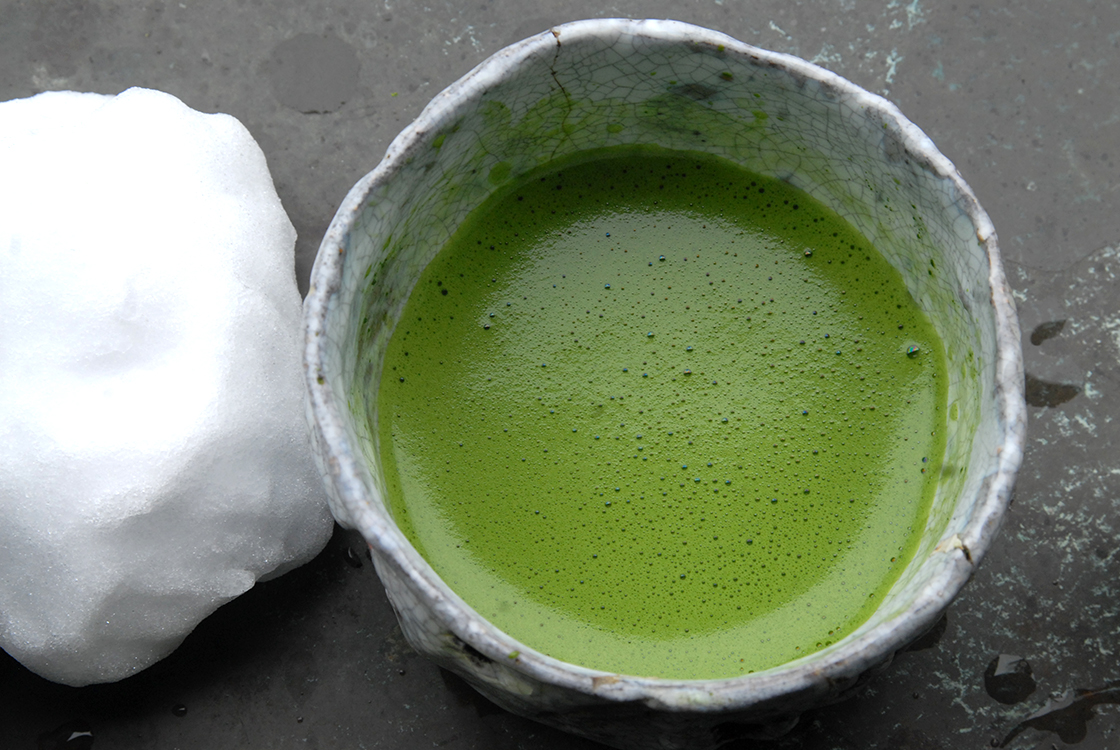 marukyu-koyamaen matcha shohaku powdered green tea